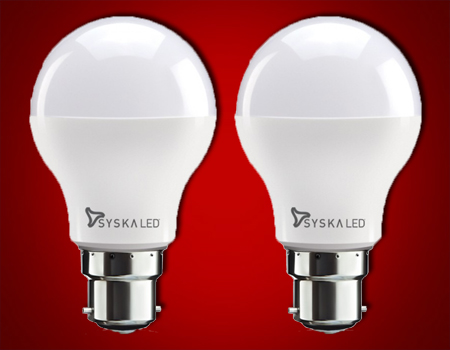 PACK OF 2-LED SRL BULB 5WATT
