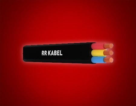 XLPE/PVC SUBMERSIBLE FLAT CABLE 1.1 KV