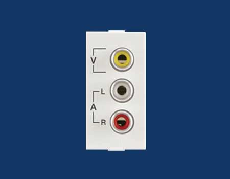 Roma Audio Video Socket